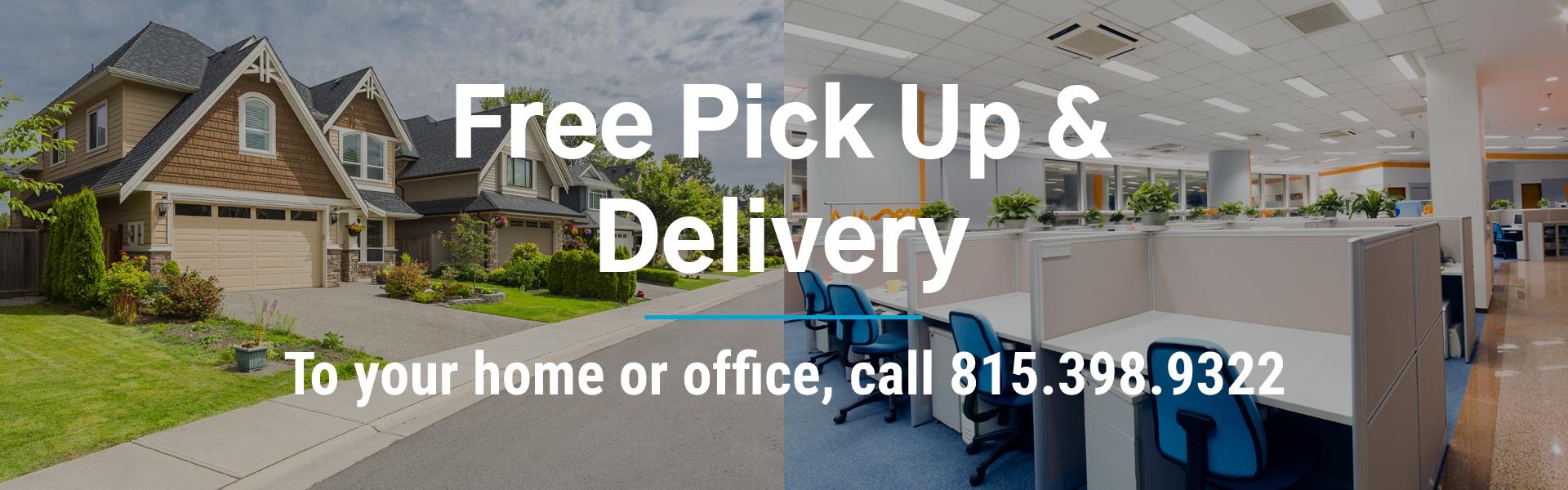 Pickup & Delivery Slide